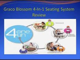 Graco High Chair Blossom Video by Graco Blossom 4 In 1 Seating System High Chair Best Graco Blossom