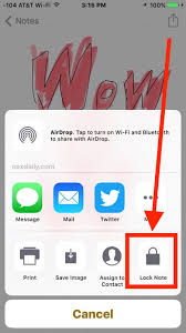 How to Password Lock Notes on iPhone & iPad