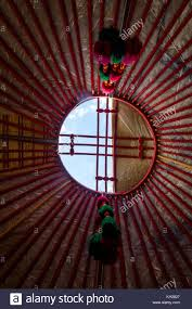 100 Nomad House Hole In A Yurt Roof Yurt Is A Traditional Nomad House In Central