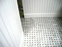 marble tile discoloring