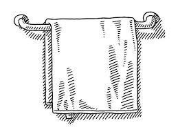 handtuchhalter illustrationen und vektorgrafiken istock