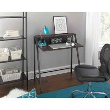 Mainstays Desk Chair Fuschia by Mainstays 2 Tier Writing Desk Multiple Finishes Walmart Com