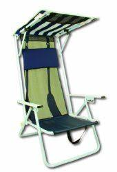 Beach Chair With Footrest And Canopy by 9 Best Beach Chairs With Clamp On Umbrellas Or Canopy Images On