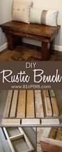 best 25 rustic wood bench ideas on pinterest long bench diy