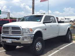 100 Dodge Dually Trucks White Sweet Lifted Cummins