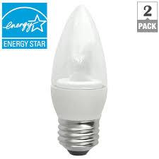 tcp 40w equivalent daylight blunt tip medium base deco led light