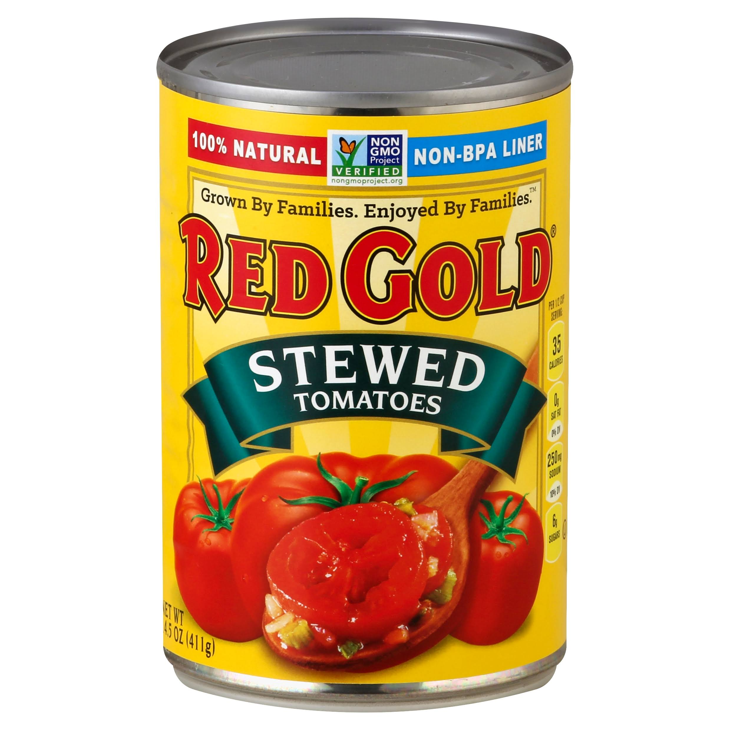 Red Gold Stewed Tomatoes - 14.5oz