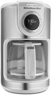 12 Cup KitchenAid Coffee Maker White KCM1202WH