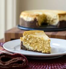 Gingersnap Pumpkin Pie Cheesecake by Cheesecake Gone Gourmet