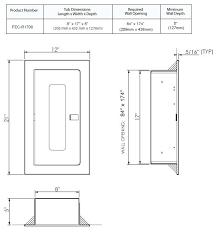 Kidde Semi Recessed Fire Extinguisher Cabinets by Wall Mounted Fire Extinguisher Cabinet Imanisr Com