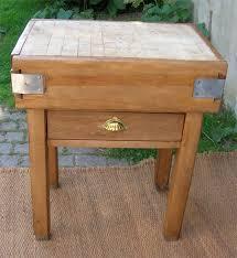 billot cuisine bois ancien billot de boucher pour cuisine ustensiles de cuisine