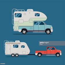 Camper Truck Vector Art | Getty Images