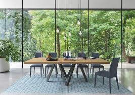 Modern Dining Room Table Chairs For Perfect Furniture Contemporary New York Jensen Lewis