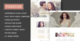 Forever Wedding Couple & Wedding Planner Agency WordPress Theme