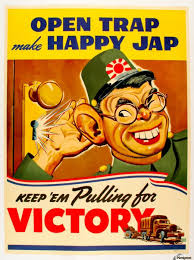 American Anti Japanese Propaganda From World War II Print