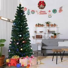 3 Goplus Fiber Optic Pre Lit Christmas Tree 7Ft