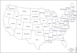 Black And White Map Usa Us Road Outline With States Valid Maps