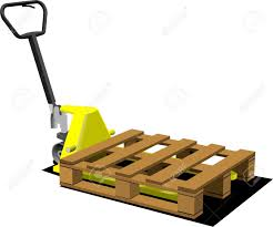 100 Pallet Truck Hand Yellow Forklift Royalty Free Cliparts Vectors