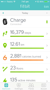 Fitbit Charge MyFitnessPal iOS Health — MyFitnessPal