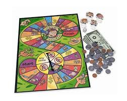 Math Board Games For Kids Money Bags