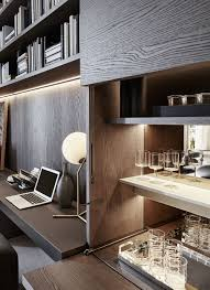 boiserie panels and led lighting bars ffe console armoire