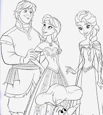 Frozen Movie Coloring Sheet