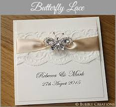 Butterfly Lace Wedding Invitation Collection