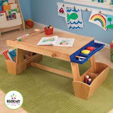 Keep Little Hands Busy Painting Drawing And Coloring For Hours With This Wooden Art Kids TableKid