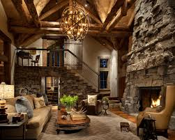 great room rustic living room other by peace design