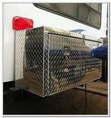 Travel Trailer Storage Box