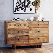 6 Drawer Dresser Under 100 by Emmerson Reclaimed Wood 6 Drawer Dresser Natural West Elm