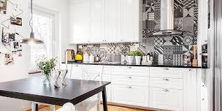 cuisine carreaux carreaux de ciment credence cuisine maison design bahbe com