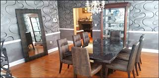 Imported From Italymarble Dining Table With 8 Leather Chairs Full