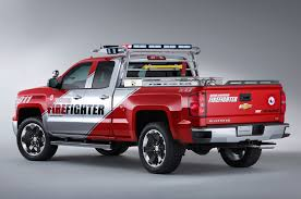 100 Concept Trucks 2014 Chevrolet Silverado Z71 Volunteer Firefighter SEMA