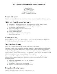 Example Objectives In Resume Top Rated It Resumes Examples Objective Also