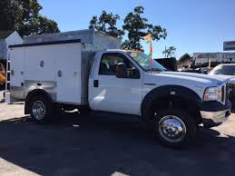 2006 Used Ford Super Duty F-550 Enclosed Utility Service Truck ESU ...