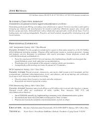 Resume Administrative Officer Great Assistant Resumes