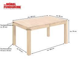 esstisch massivholztisch 140 200 cm ausziehbar wildeiche geölt holm
