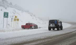 100 Trucks In Snow Winter Storm Hits Montezuma County San Juan Mountains