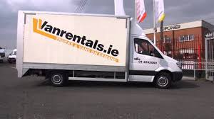 Tail Lift Truck Hire Dublin - YouTube