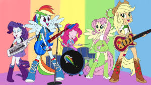 My Little Pony Equestria Girls Drawing Coloring Book Rainbow