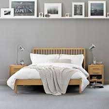 Image Result For Dark Grey Carpet Oak Bed