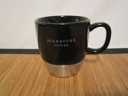2006 Urban Starbucks Stainless Steel Black Coffee Tea Mug Cup 10 Oz