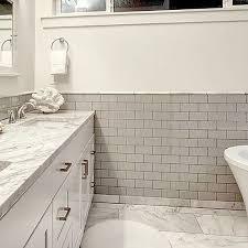 tender gray gloss 3x6 subway tile portland direct tile marble