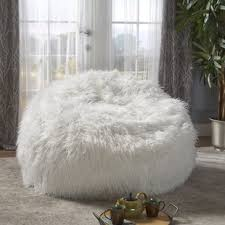 Furry Bean Bag Sofa