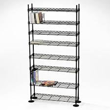 Amazon Maxsteel 8 Tier Steel Wire Shelving for 440 CD 228 DVD