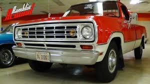1974 Dodge D200 Pickup - All Original Survivor - YouTube