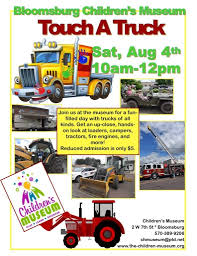 100 Trucks For Children S Museum Hosts Touch A Truck Experience Columbia