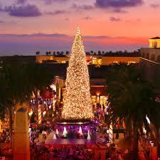 The Tree Lighting Ceremony At Fashion Island
