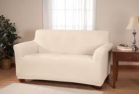 Gray Sofa Slipcover Walmart by Decorations Comfort White Loveseat Slipcover U2014 Iahrapd2016 Info
